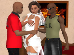 Cheating Wife Interracial Cartoon